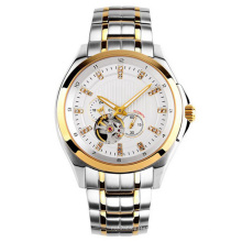 Novo estilo japão movimento automático de aço inoxidável moda watch bg411