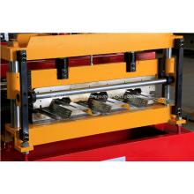 Máquina formadora de rollos de andamios de cubierta de metal de piso de acero de 915 mm