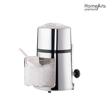 Manual Ice Crusher With Rust-Proof Zinc Alloy Construction