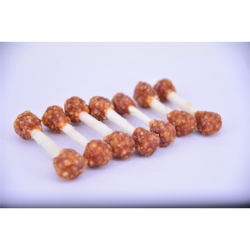 Air-Dried Chicken  Rice Dumbell Dog Chews