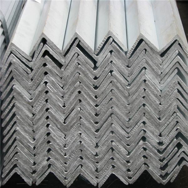 Galvanized angle bar