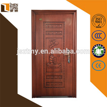 Puerta de seguridad de acero barata de alta calidad, nueva puerta de diseño