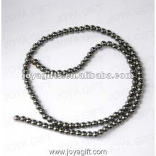 4MM Loose Magnetic Hematite Round Beads 16""