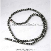"""3MM Loose Hematite Round Beads 16 """""""