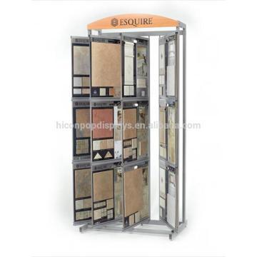 Qualität Metall Schieben Freistehende Küche oder Bad Sample Bodenbelag Fliesen Display Boards