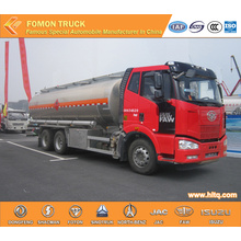 FAW 6X4 Aluminium fuel transport vehicle