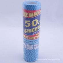 Rollo de tela Spunlace no tejido del hogar