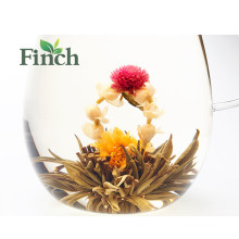 Health Benefit Artistic Blooming Tea Flower Loose Tea Made of Green Tea Peony Calendula