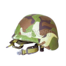 Camouflage Military Ballistic helmet NIJ IIIA with compound steel shell