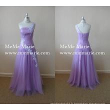 Robes pour dames Robe de soirée à deux robes en mousseline de soie en mousseline de soie PRODUCTS_URL_PREFIX BYE-14017