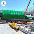 Processo de planta de pirólise de plástico para combustível