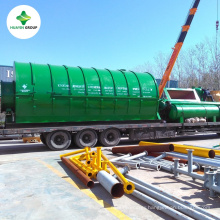 Plastic to Fuel Pyrolysis Plant Process