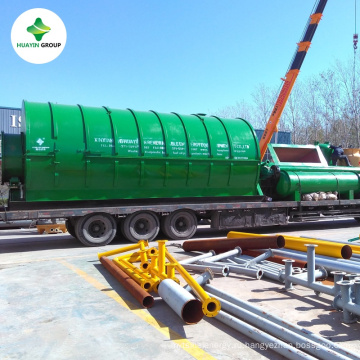 Пластиковые для топлива в процессе пиролиза завод