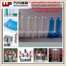entreprises de moulage par injection fabriquant 24 moules de préformes en PET de vanne à broches de cavités avec canal chaud