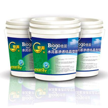 High Quality Cementitious Capillary Crystalline Waterproofing Coating /Building Material /Drinking Water Pool Coating with ISO