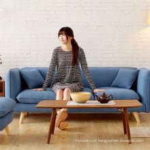 Hotel quarto tecido sofá novo mobília moderna sala de estar