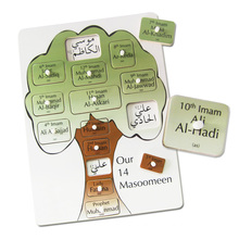 Educational Kids Wooden Arabic Alphabet Puzzle