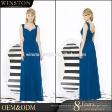 Custom popular mais recente quente venda de alta qualidade de melancia cor vestido de noite