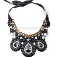 2017 jewelry fashion pearl necklace gemstone necklace wholesale in alibaba