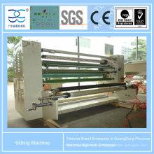 Máquina de corte y rebobinado para cinta adhesiva