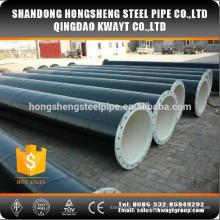 Spiral geschweißter Stahlrohrflansch verbunden