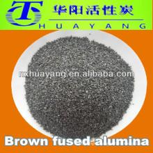 Refractory raw materials 300 mesh bown fused alumina grains