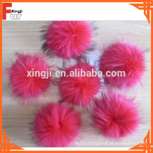 Wholesale fur pom poms, raccoon fur
