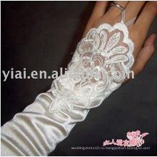Бренд 2010 Новые Свадебные Перчатки !!! AN2104