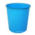 Plastic Blue Open Top Waste Bin (B06-930-3)