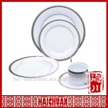Conjunto de jantar de louça de porcelana