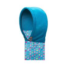 открытый логотип зимняя шапка вязаная шея теплее