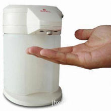 Automatic Hand Sterilizer/Washer with Gear Pump and 2C Batteries, Measures 140 x 140 x 210mm