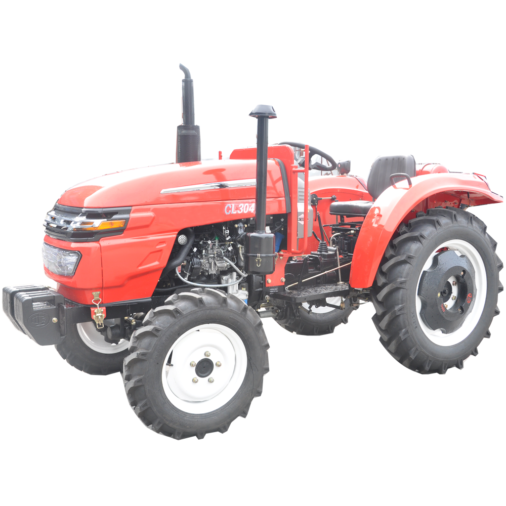Red 30HP Small Tractor
