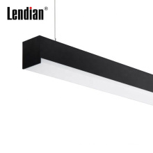 Aluminum surface mounted recessed cob 5w 10w 15w 20w led linear pendant light for office workshop