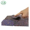 нескользящие толстые резиновые квадратные коврики для пола