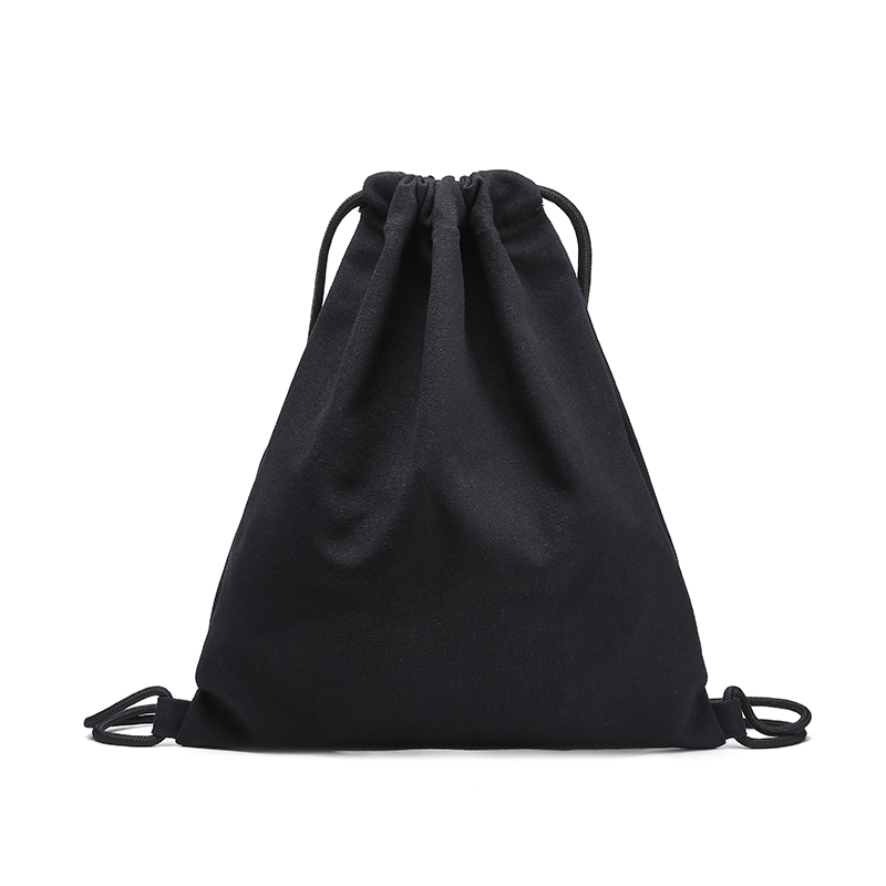 Pure Color Canvas Backpack