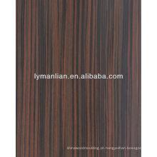folheado de bambu projetado do folheado da madeira do reconhecimento