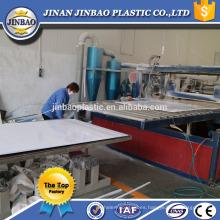 material de decoración barato y fino 2 mm personalizado lámina rígida placa de pvc