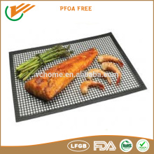 high Temperature resistance non stick teflon grill mesh pizza baking mesh crisp mesh