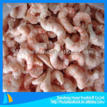 frozen red shrimp