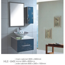 Mirrored gabinete de baño de acero inoxidable de vanidad con precio competitivo
