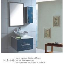 Cabinet de salle de bains en acier inoxydable à vanité miroir avec prix compétitif