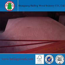 Red Hardwood Plywood with BB/CC Grade