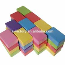 Eco-friend custom educational EVA building block bricks for kids