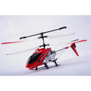 3.5 ch helicóptero RC com giroscópio (vermelho)
