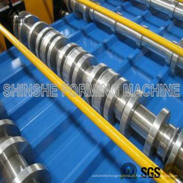 Máquina curvadora para chapas metálicas