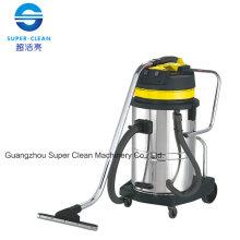 Aspirateur en acier inoxydable 60L pour humide et sec avec inclinaison