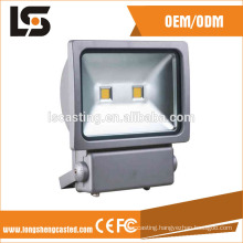 New Type outdoor temper colored 100w led flood light covers for parking lot