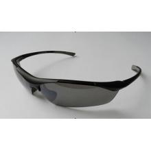 Vidro de segurança preto em design elegante