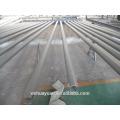 Iluminación de calles bastones de acero tubular redondos de brazo simple o doble